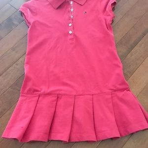 Tommy Hilfiger Dresses - Tommy Hilfiger polo shirt dress. Kid size 6-7